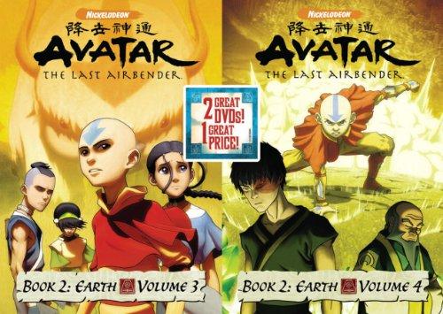 Avatar The Last Airbender: Book 2 Earth, Vols. 3&4