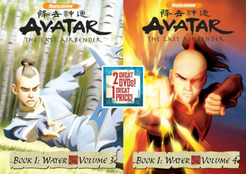Avatar The Last Air Bender: Book 1 Water, Vols. 3&4