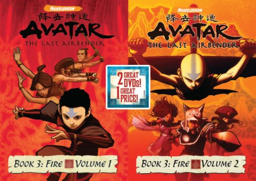 Avatar The Last Airbender: Book 3 Fire, Vols 1&2