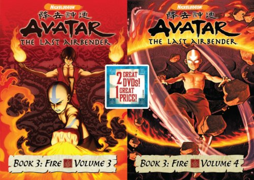 Avatar The Last AirBender: Book 3 Fire, Vols 3&4