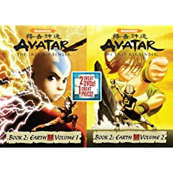 Avatar The Last Air Bender: Book 2 Earth, Vols. 1&2