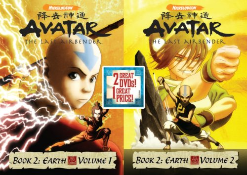 Avatar The Last Air Bender: Book 2 Earth, Vols. 1&2
