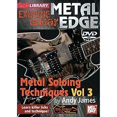 Metal Edge: Metal Soloing Techniques, Volume 3 DVD
