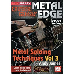 Metal Edge: Metal Soloing Techniques, Volume 3 DVD