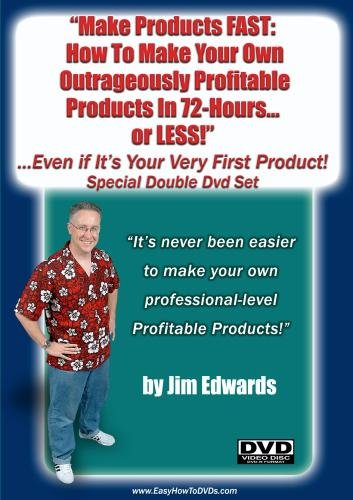 Make Products FAST: How To Make Your Own Outrageously Profitable Products In 72 Hours... (or Less!)  Even If It's Your Very First Product!""