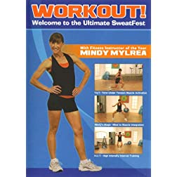 Mindy Mylrea: WORKOUT - THE ULTIMATE SWEATFEST DVD!