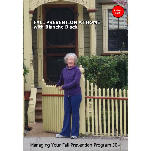 Fall Prevention At Home with Blanche Black- 2 DVD Set