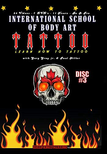 Learn How to Tattoo Instructional Video Guides - Topics 13 through 15