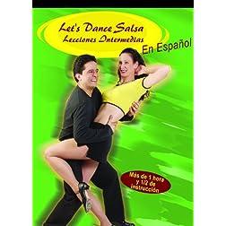 Let`s Dance Salsa Lecciones Intermedias DVD en Español