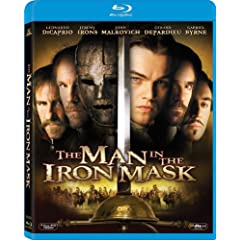 The Man In The Iron Mask (w/DVD) [Blu-ray]