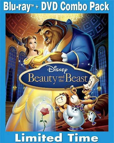 Beauty and the Beast (Three-Disc Diamond Edition Blu-ray/DVD Combo in Blu-ray Packaging)