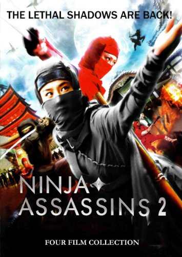 Ninja Assasins 2: 4 Film Collection
