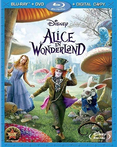 Alice in Wonderland (Three-Disc Blu-ray/DVD Combo + Digital Copy)