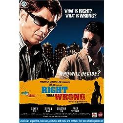 Right Yaaa Wrong (New Hindi Film / Bollywood Movie / Indian Cinema DVD)