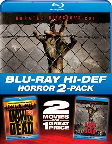 Dawn of the Dead (2004) & Land of the Dead (2pc) [Blu-ray]