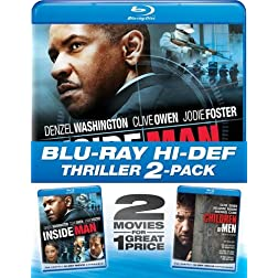 Inside Man & Children of Men (2pc) (Ws Btb) [Blu-ray]
