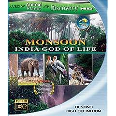 Wild Asia: Monsoon India God of Life [Blu-ray]