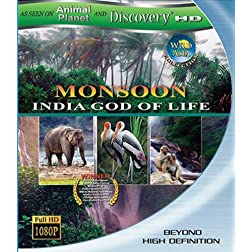 Wild Asia: Monsoon India God of Life [Blu-ray]