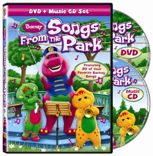 Barney: Songs From the Park (DVD + Music CD)