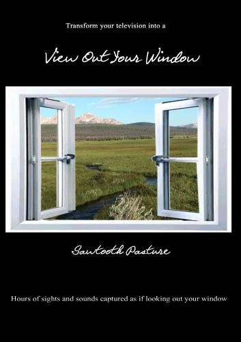 View Out Your Window ~ Sawtooth Pasture