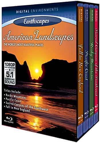 Living Landscapes: American Landscapes (4pc) [Blu-ray]