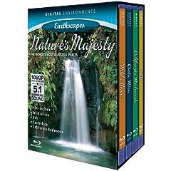 Living Landscapes: Nature's Majesty (4pc) [Blu-ray]