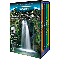 Living Landscapes: Nature's Majesty (4pc) [Blu-ray]