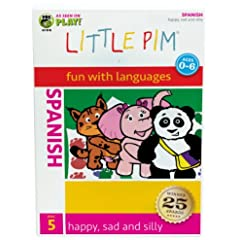Spanish Little Pim: Happy, Sad And Silly (Disc 5)