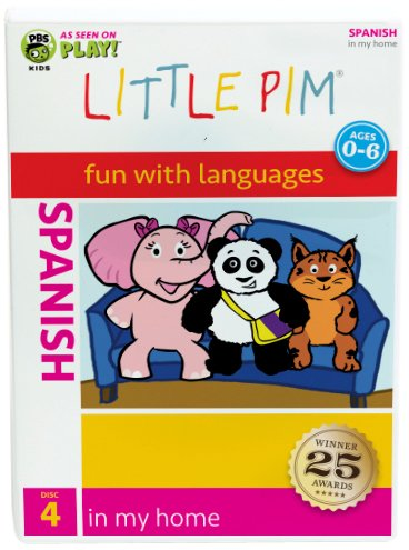 Spanish Little Pim: In My Home (Disc 4)