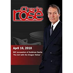 Charlie Rose - SEC accusation of Goldman Sachs / 'The Girl with the Dragon Tattoo' (April 16, 2010)