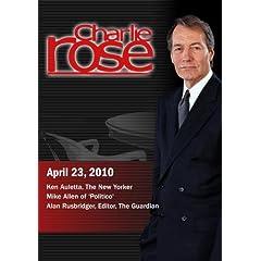 Charlie Rose - Ken Auletta / Mike Allen /Alan Rusbridger (April 23, 2010)