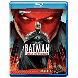 Batman: Under the Red Hood (Amazon Exclusive Limited Edition with Litho Cel) [Blu-ray]