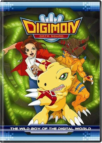 Digimon Data Squad Wild Boy of the Digital World