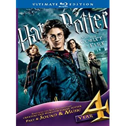 Harry Potter and the Goblet of Fire (Ultimate Edition) [Blu-ray]