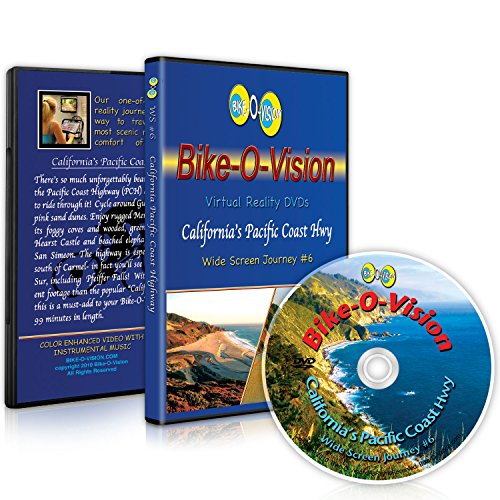 Bike-O-Vision Cycling Journey- California's Pacific Coast Highway (Widescreen DVD #6)