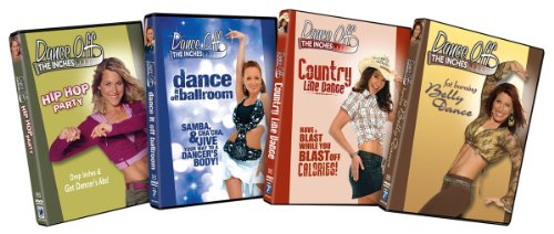 Dance Off the Inches Fitness Bundle ( Hip Hop Party / Dance It off Ballroom / Country Line Dance /Fat Burning Belly Dance)