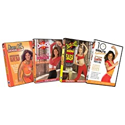 Latin Rhythms Fitness Bundle (10 Minute Solution: Latin Dance Mix / Crunch: CardioSalsa / Crunch: Latin Rhythms /Dance Off the Inches: Sizzling Salsa)