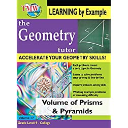 Volume of Prisms & Pyramids: Geometry Tutor
