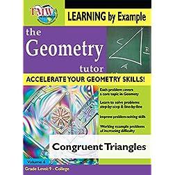 Congruent Triangles: Geometry Tutor