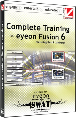 Class on Demand Complete Training for eyeon Fusion 6 eyeon Educational Training Tutorial DVD