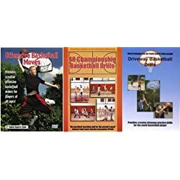 Basketball Instruction: Schupak's Basketball 3 Pack DVD Set