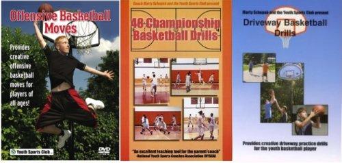 Basketball Instruction: Schupak's Basketball 3 Pack DVD Set