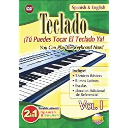 Teclado 1: 2 in 1 Bilingual