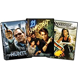 Combo: 21 JUMPSTREET COMPLETE S1/HUNTER COMPLETE S1/RENEGADE COMPLETE S1