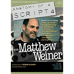 Anatomy of a Script 4 - Matthew Weiner