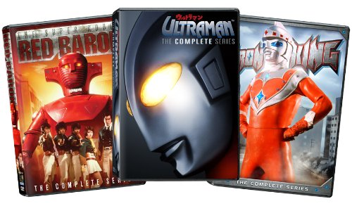 Combo: Ultraman/Super Robot Red Baron/Iron King