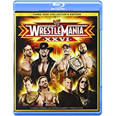 Wrestlemania 26 Collector's Edition [Blu-ray]