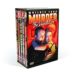 Vintage Hollywood Murder Mysteries: Murder By Invitation (1941) / Murder At Glen Athol (1932) / Wayne Murder Case  (1932) / Murder On The Campus (1934) / Murder In The Museum (1934) (5-DVD)
