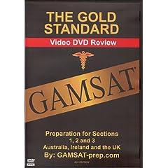 Gold Standard GAMSAT Preparation for Section 1, 2, 3 (Australia, Ireland, UK)