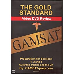 Gold Standard GAMSAT Preparation for Section 1, 2, 3 (Australia, Ireland, UK)